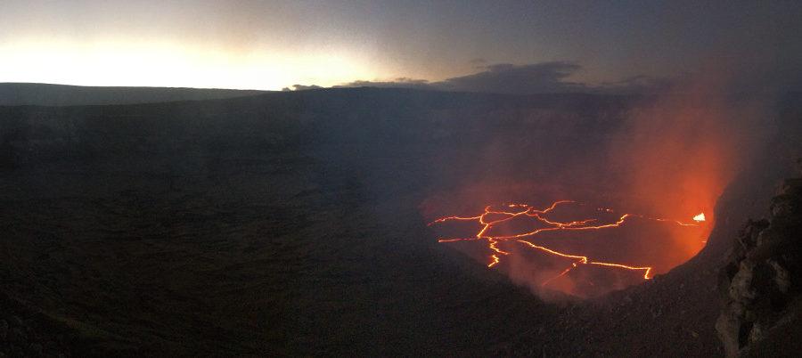Lava Update: Volcano Summit, Ocean Entry Activity