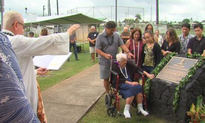 VIDEO: Gilbert Carvalho Plaque Blessed At Hilo Park