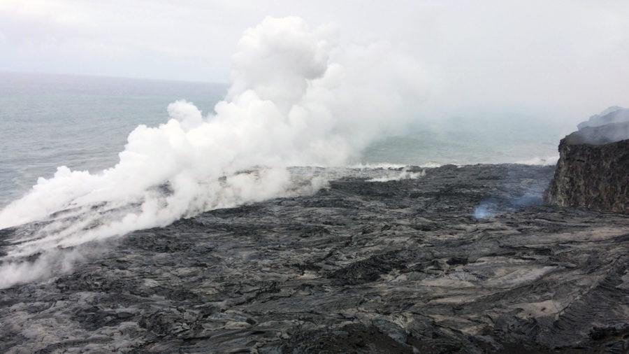 Scientists, Coast Guard Warn Of Lava Delta Collapse