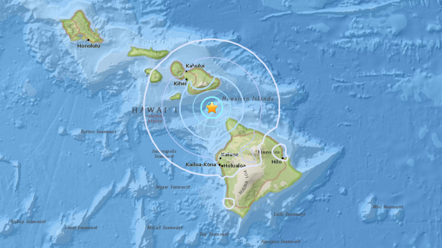4.2 Earthquake Between Hawaii And Maui Jolts Island