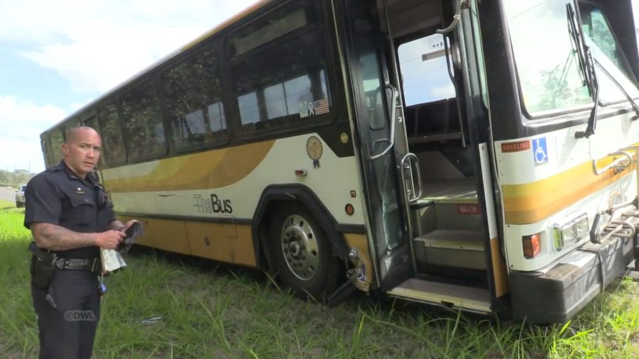 VIDEO: Stolen Hele-On Bus Recovered On Puna Highway