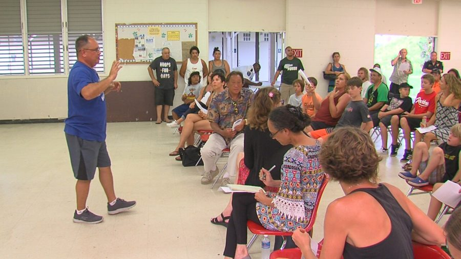 VIDEO: Pahoa Skate Park Concerns Draws Crowd