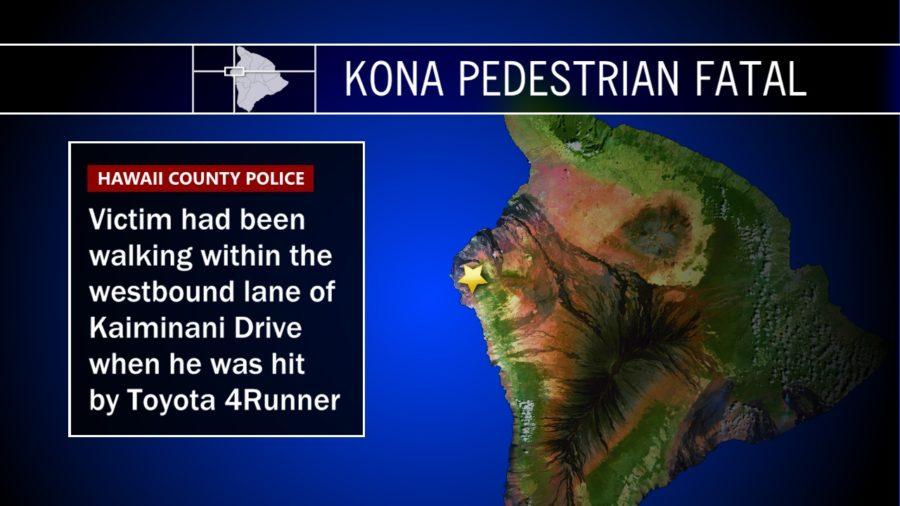 Pedestrian Killed By Car In Kona Identified By Police