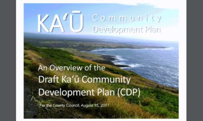 VIDEO: Ka'u Community Development Plan Summarized