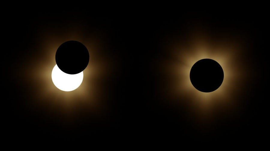 Today's Solar Eclipse Partially Clips Hawaii