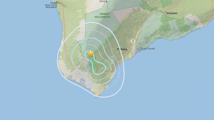 3.8 Earthquake Hits Hawaii Island's Ka'u District