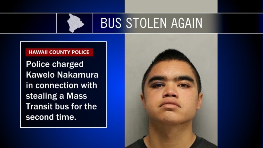 Police Charge Nakamura For Stealing Another Bus
