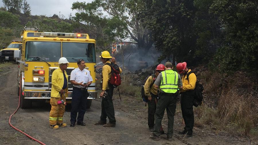 Fire Concerns Prompt Volcanoes National Park Closures