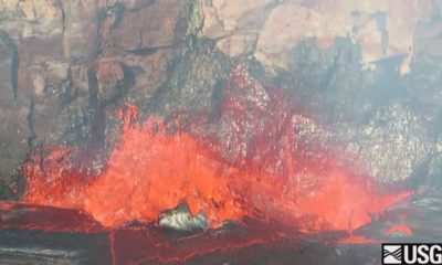 VIDEO: Scientists Record Spattering At Kilauea Lava Lake