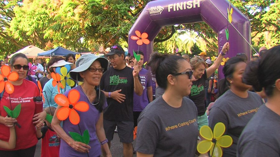 VIDEO: Walk to End Alzheimer's In Hilo