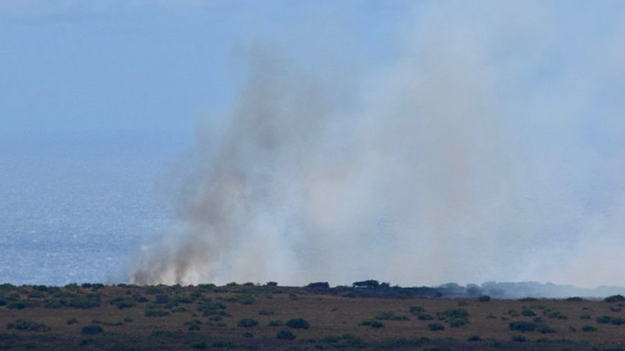 Ka'u Brushfire Situation Detailed By Hawaii Fire Department