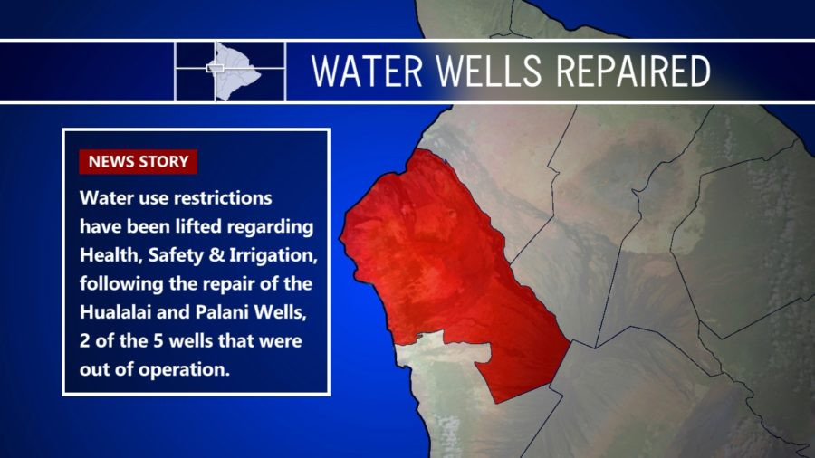 Two Water Wells Repaired In Kona