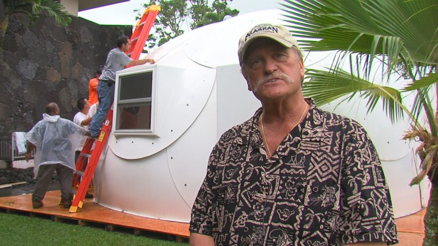 "VIDEO: ""Igloo"" Style Shelter For Homeless Demonstrated In Hilo"