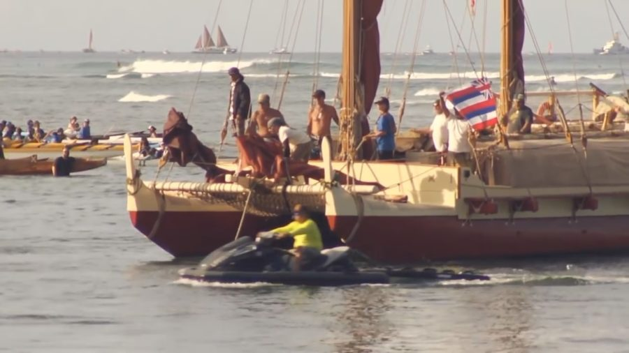 VIDEO: Council Funds Preps For Mahalo Hawaii Voyage