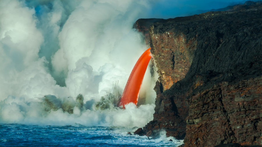 Lava Ocean Entry Boating Rules Extended By Coast Guard