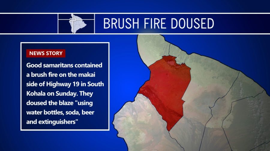 Good Samaritans Douse Brushfire With Soda & Beer, Save The Day