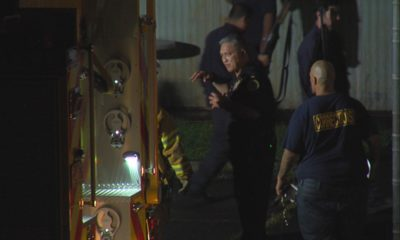 VIDEO: Fire At Old Hilo Jail, One Man Arrested