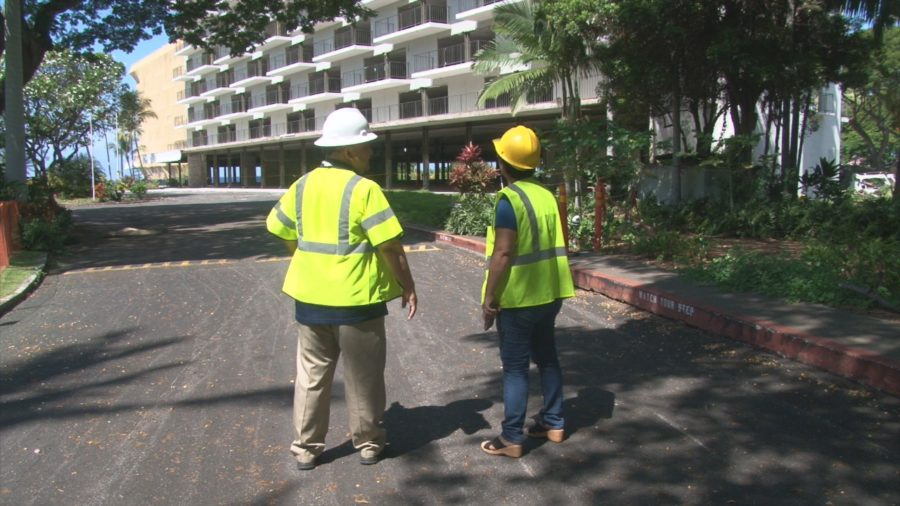 VIDEO: Keauhou Beach Hotel Removal Enters New Phase