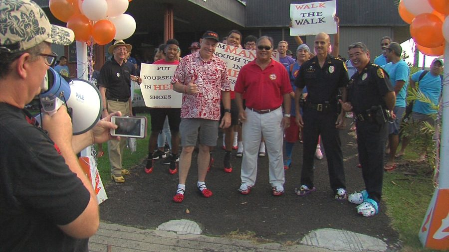 VIDEO REPORT: As #MeToo Multiplies, Hilo Walks A Mile In Her Shoes
