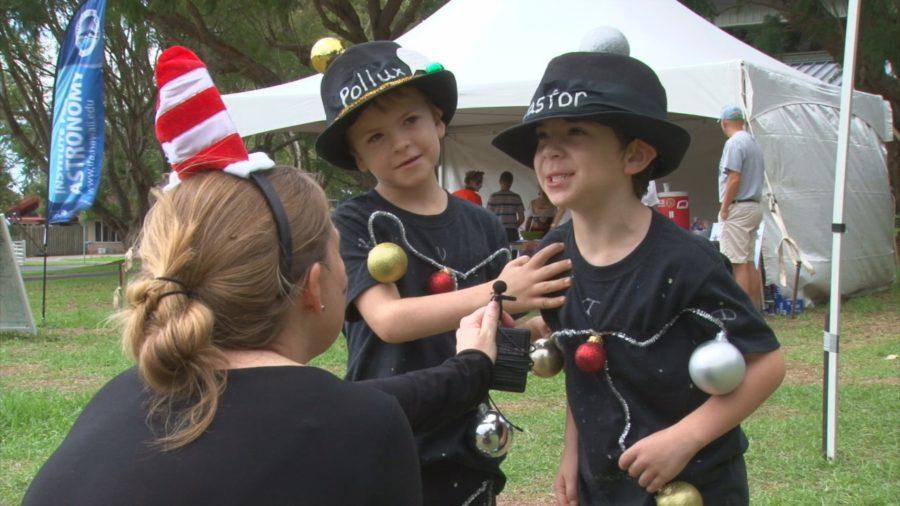 VIDEO REPORT: Solar System Walk Held In Waimea