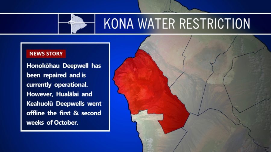 Kona Water Problems Persist