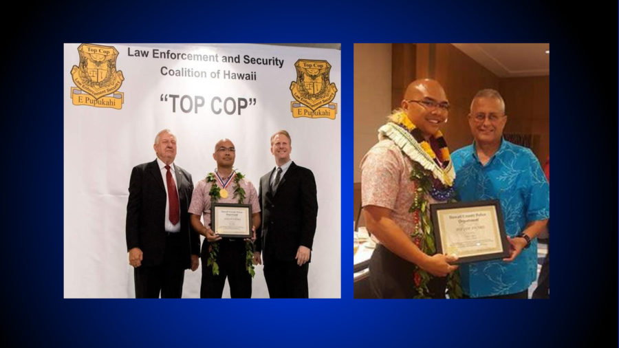 Officer Bidal Awarded For Actions In Pahoa Fire
