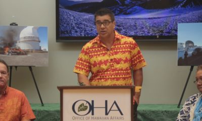 OHA Files Mauna Kea Lawsuit, Holds Press Conference