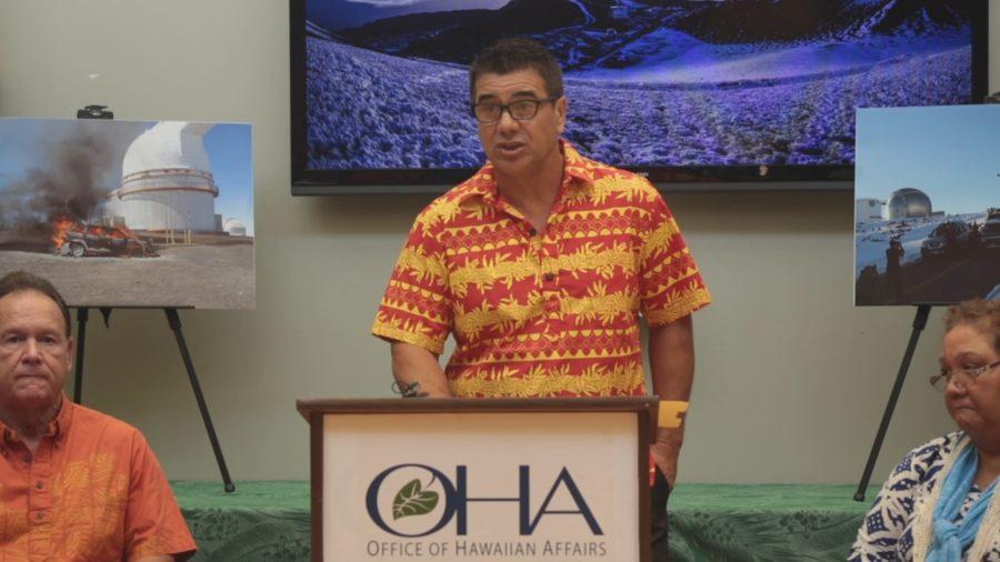 OHA Files Mauna Kea Lawsuit, Holds Press Conference