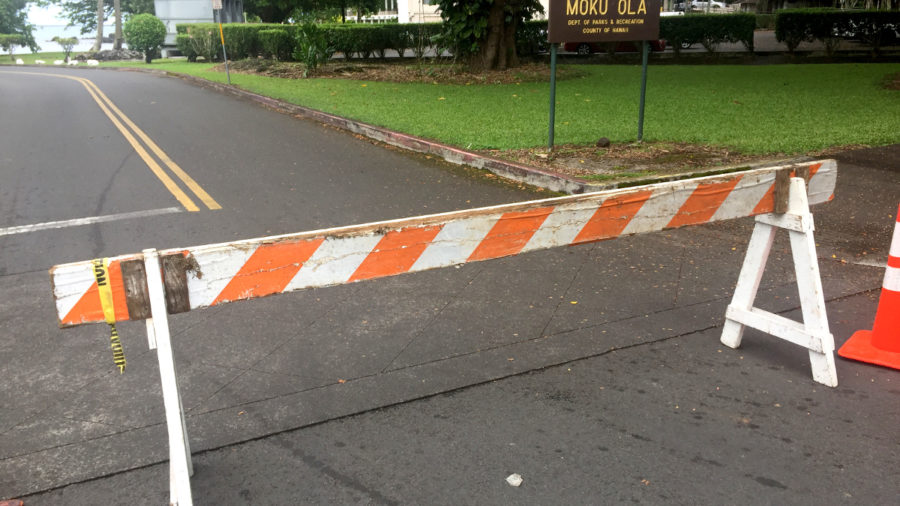 High Surf Closes Hilo Bayfront, Some Beach Parks