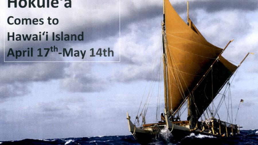 "Dates Set For Hokule'a ""Mahalo Hawaii"" Visit To Big Island"