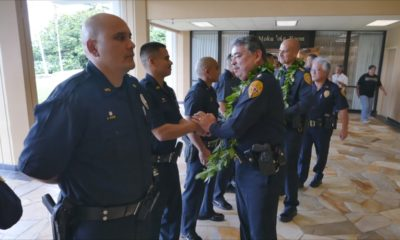 VIDEO: Hawaii Police Recruits Recognized