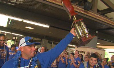 VIDEO: Hilo Celebrates Vikings, Hawaii State Football Champs