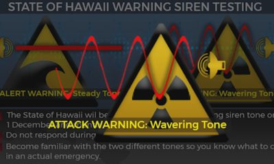 VIDEO: Hawaii Rolls Out Attack Siren As DPRK Named Terror Sponsor