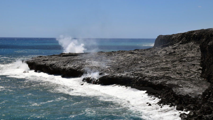VOLCANO WATCH: Scientists Discuss – Lava Delta Or Lava Bench?