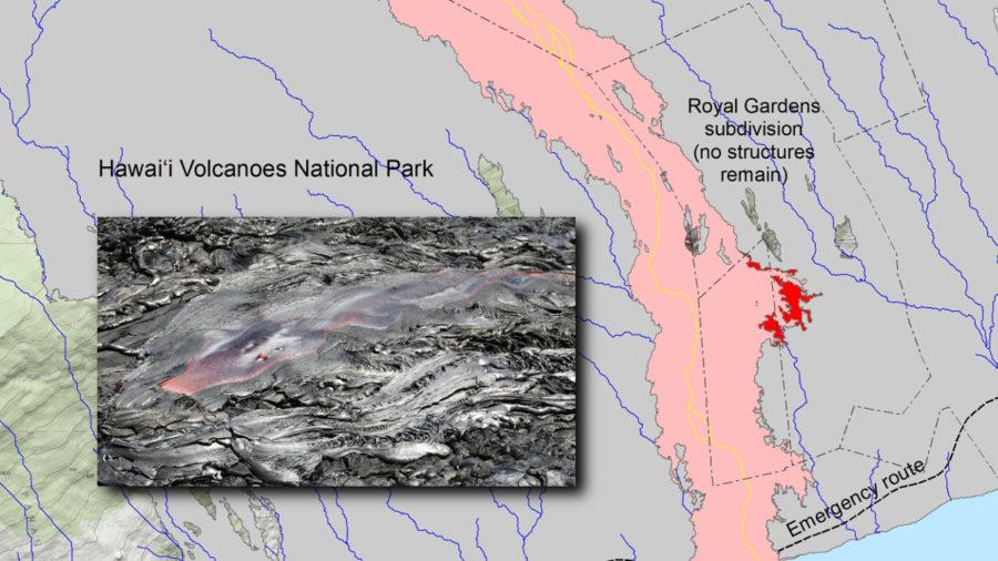 New USGS Maps, Photos Chart Lava Flow Changes