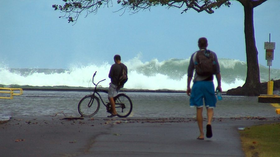 High Surf Warning Expected To End This Morning