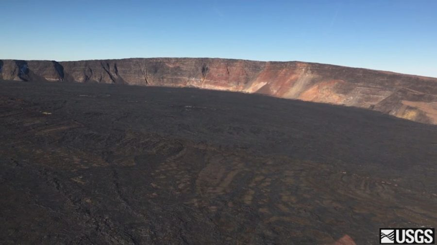 VIDEO: Kilauea, Mauna Loa Volcano Flyovers