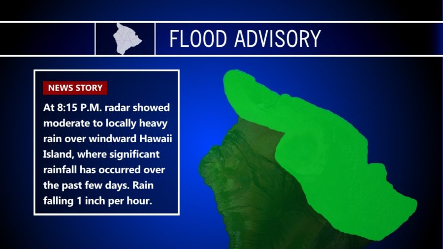 Friday Night Flood Advisory In Effect, More Snow Falling