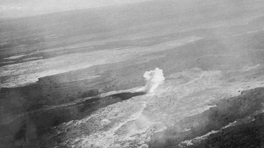 VOLCANO WATCH: Aerial Bombing The 1935 Mauna Loa Lava Flow