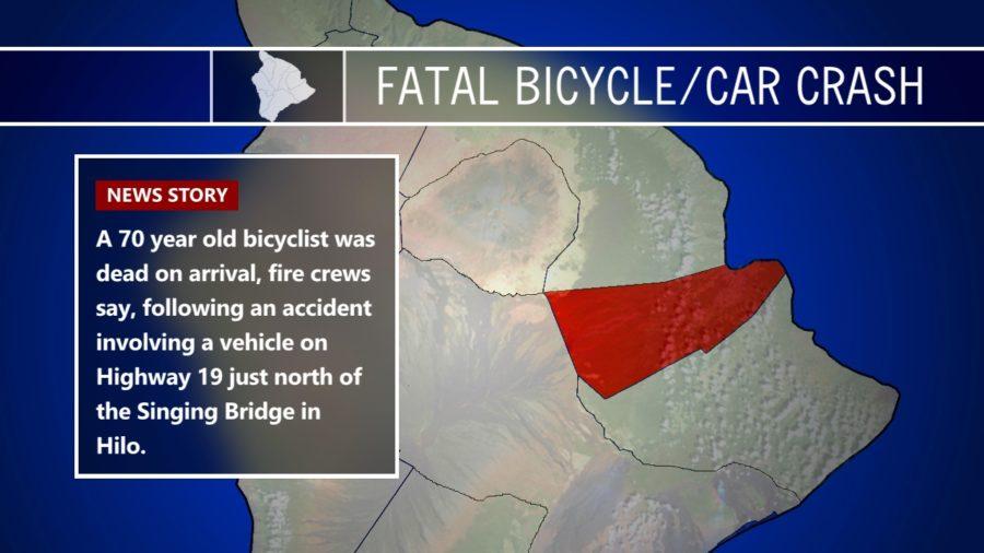 70-Year-Old Bicyclist Dies In Hwy 19 Crash