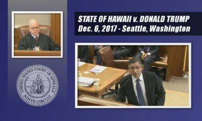 VIDEO: Hawaii vs. Donald Trump At Appeals Court