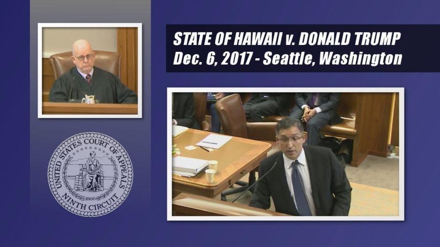 VIDEO: Hawaii vs. Donald Trump At Appeals Court