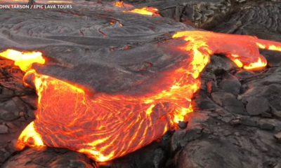 VIDEO: Lava Sizzles As Busy Season Begins At Hawaii Volcanoes Park