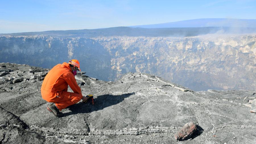 USGS Maps Lava Breakouts Burning Kipuka On East Rift Zone