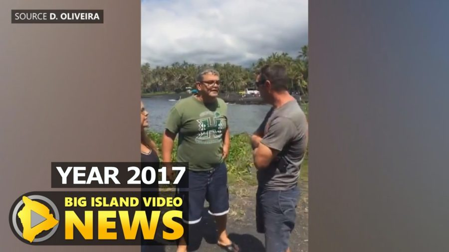 YEAR 2017: Punalu'u Confrontation