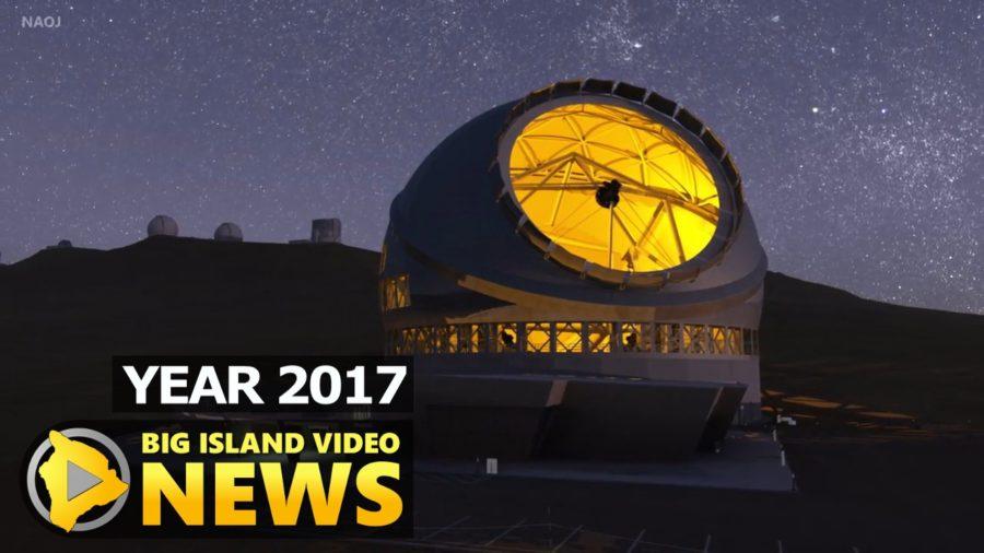 YEAR 2017: Thirty Meter Telescope Permit