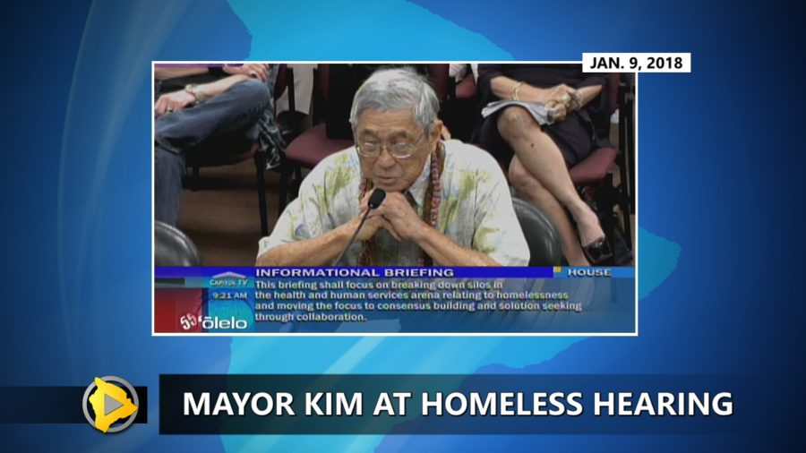 VIDEO: Mayor Kim Testifies On Homeless At Capitol