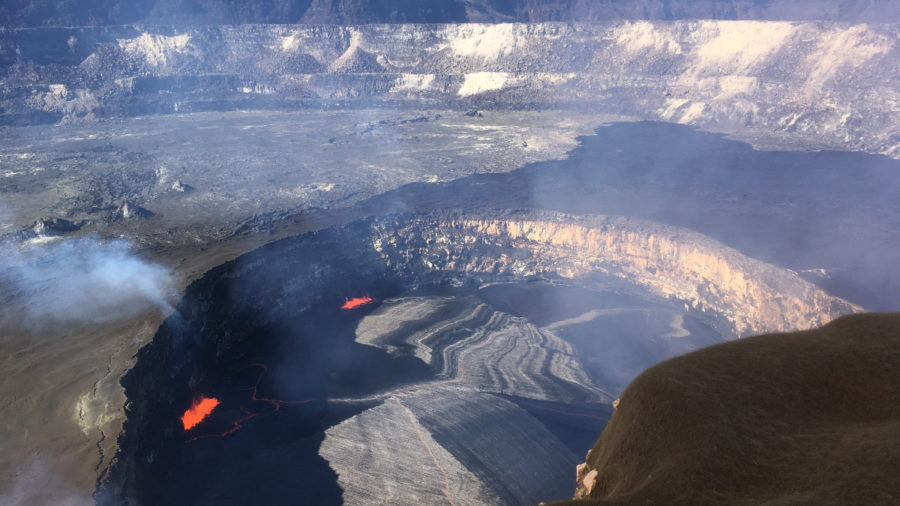 VOLCANO WATCH: What Makes Halema'uma'u Lava Lake Rise And Fall?