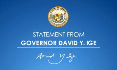 VIDEO: Governor David Ige's Address To Hawaii