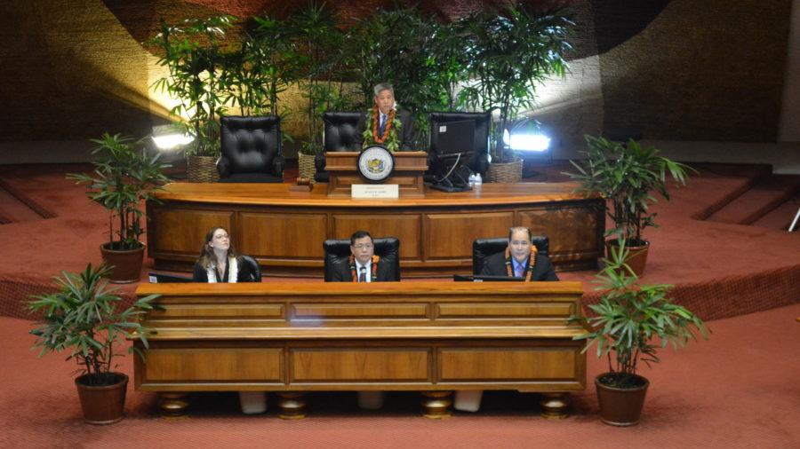 House Speaker Scott Saiki Delivers Opening Remarks